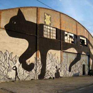 50 najboljih SVETSKIH grafita sa mačkama!