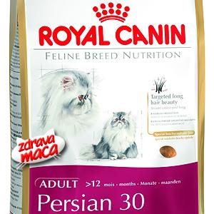 Kompletna hrana posebno pripremljena za potrebe persijske mačke.